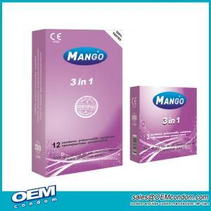 Mango brand 3in1 Condoms