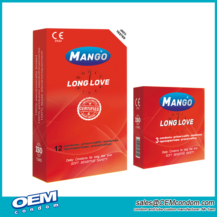 Mango Long Love Condoms